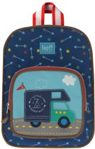 Lief! Survival Bus - Rugzak - Kinderen - Blauw