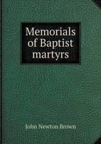 Memorials of Baptist Martyrs