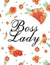 Boss Lady - Dot Grid Journal (Diary, Notebook)