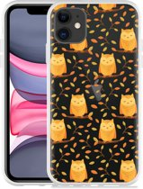 Apple iPhone 11 Hoesje Cute Owls