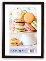 Kunststof Fotolijst New Easy Zwart 21x29,7 cm ( A4 ) KB11