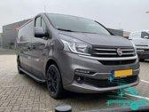 Opel Vivaro Treeplanken | Opel Vivaro 2001+ | Renault Trafic 2001+ | Nissan NV300 2016+ | Fiat Talento 2016+ | L2 | Aluminium Zwart