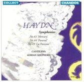 Haydn: Symphonies No. 43 'Mercury'; No. 44 'Funeral'; No. 49 'La Passione'