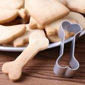 Hondenkoekjes uitsteker hondenbot - Uitsteekvorm voor het maken van koekjes in de vorm van een bot