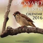 Backyard Birds Calendar 2016