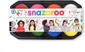 Snazaroo Schmink Jumbo Palet set 8 kleuren