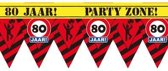 Party Tape - 80 Jaar
