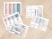 Planner Stickers 1005 voor Mascha Planner