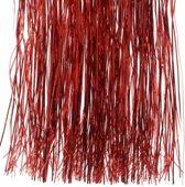 Kerstboom decoratie folie slierten rood