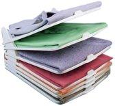 Mesa Living Shirt Organizer - Compact Kledingrek - 5 kledingstukken - 30x13x36cm
