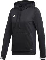 adidas Team 19 Dames Hoody - Sweaters  - zwart - M