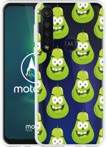 Motorola Moto G8 Plus Hoesje Happy Peer