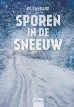 Sporen in de sneeuw