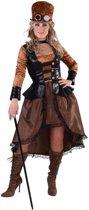 Steampunk Kostuum | Sheffield Steampunk Cyber | Vrouw | Small | Carnaval kostuum | Verkleedkleding