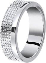 Lucardi Ringen - Stalen ring bewerkt