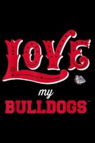 Love My bulldogs: Gonzaga Bulldogs Love My Team - Apparel Journal/Notebook Blank Lined Ruled 6x9 100 Pages