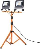 Osram LED bouwlamp 2x 50W 4000K 2x4500lm IP65 met statief