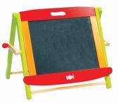 Lelin toys Magnetisch whiteboard en schoolbord