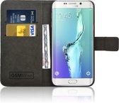 GSMWise® – PU lederen Portemonnee hoesje voor de Samsung Galaxy S6 Edge Plus Wallet Case - Telefoonhoesje - Bescherm Hoes - Book Style - Book Cases - klap Flip Cover - Smartphone hoesje – kleur zwart