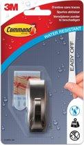 6x Command decohaak, small, draagvermogen 500 gram, metaal, waterbestendig, blisterverpakking