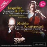 Schumann: Cello Concerto in A minor; Dvořák: Cello Concerto in B minor