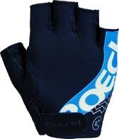 Roeckl Bellavista Fietshandschoenen - Maat 7 - Black/Blue
