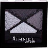 Rimmel Glam'Eyes Quad Eyeshadow - 001 Smokey Noir - Oogschaduw Palet