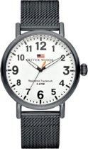 River Woods RW420009 Sacramento horloge Heren - Zwart - RVS 42 mm
