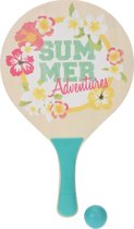 Tender Toys Beachballset Blauw Summer Adventures 35 Cm