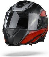 NEXX.Vilituritur Paradox Black Red Matt Systeemhelm - Motorhelm - Maat M