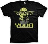 Merchandising STAR WARS - T-Shirt Cool Yoda - Black (M)