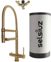 Selsiuz XL Gold met Combi Extra of Combi+ boiler