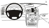 Brodit center mount v. Volvo S60/V70/XC70 00-04