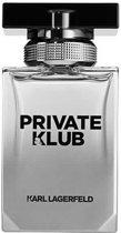 MULTI BUNDEL 2 stuks Karl Lagerfeld Pour Homme Private Klub Eau De Toilette Spray 50ml