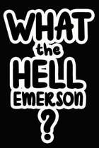 What the Hell Emerson?