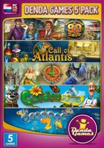 Denda Games Bundel: Around the World in 80 Days + Call of Atlantis + 4 Elements + Gardenscapes + Fishdom 2