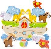 New Classic Toys - Educatief Spel - Balansspel - Ark van Noach