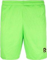 Robey Shorts Backpass - Voetbalbroek - Neon Green - Maat 140