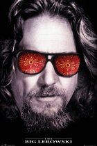 The Big Lebowski-The Dude-Jeff Bridges-Coen Brothers poster 61x91.5cm.