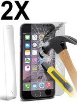 SMH Royal - 2 Stuks - iPhone 5 Screenprotector Glass Glazen Tempered Gehard 2.5D 0.3MM 9H ( New Tech, Extra Sterk )