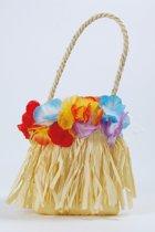 Hawaii handtasje met bloemen