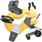 Koelstra Binque Daily PACK - Kinderwagenset - Grijs