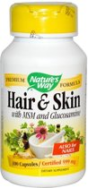 Hair & Skin with MSM and Glucosamine 100caps