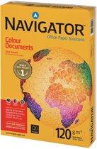 9x Navigator Colour Documents presentatiepapier A4, 120gr, pak a 250 vel
