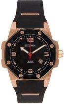 OTUMM Classi Speed 41mm Rose Gold Black Bezel