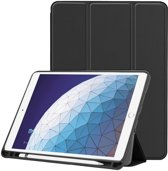 Smart Tri-Fold Case met Pen Houder voor iPad Air (2019) 10.5 - zwart