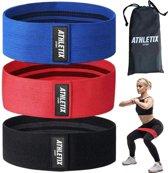 ATHLETIX® Premium Weerstandsbanden Set - 3 Resista