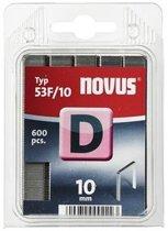 Novus vlakdraad nieten D 53F 10mm