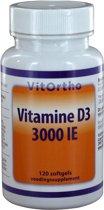 Vitortho vitamine D3 3000ie 120 st