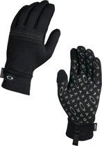 Oakley Diamondback Fleece - Winterhandschoen - maat S - Jet Black